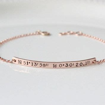 coordinates bracelet latitude and from