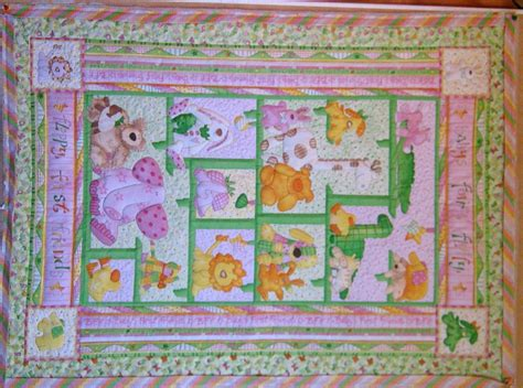 Cot Panels For Quilting by Quiltmekiwi Cot Quilts