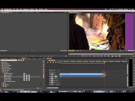 adobe premiere quick tutorial how to fade in and out to black in adobe premiere pro cc