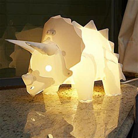 diy dinosaur lamps green head