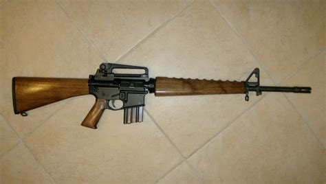 Ar 10 Wood Furniture by Bushmaster Ar 15 M4 Barrel A1 Fixed M4 Stock