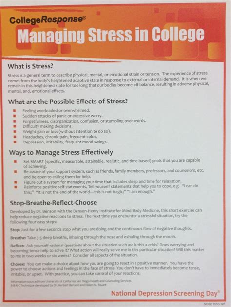 Essay About Stress Management by Essay About Managing Stress