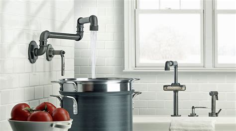 industrial style faucets customizable industrial style faucet design from watermark