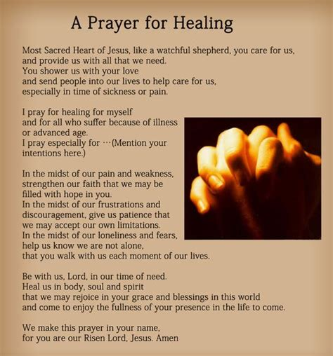 wellness prayers comfort healing prayers for healing the sick bing images prayers