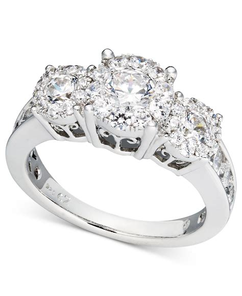 macy s engagement ring and wedding band bridal set