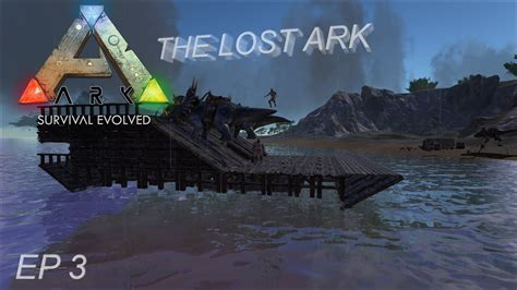 how to make a boat base in ark ark se ep 3 the raft boat youtube