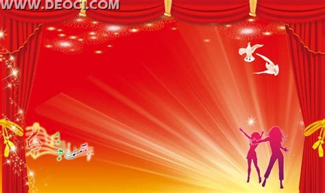 Wedding Banner Designs Background by Festive Curtain Background Design Template Psd