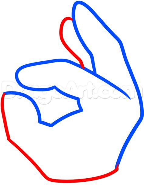 how to draw the ok hand emoji step by step symbols pop