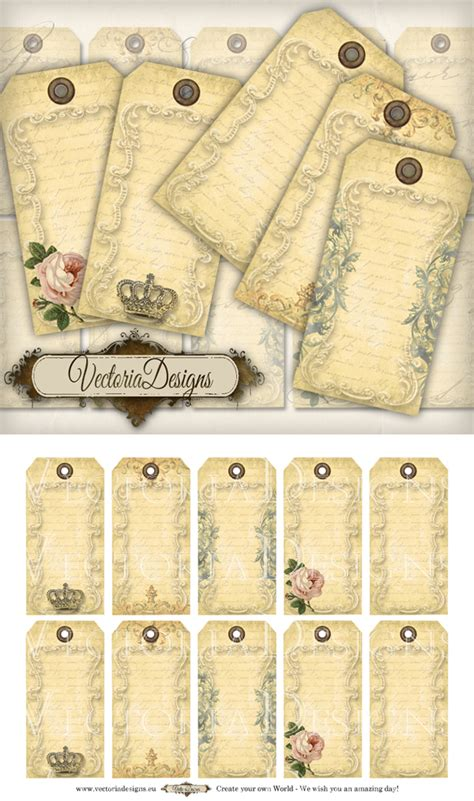 printable hang tags free printable vintage hang tags by vectoriadesigns on deviantart