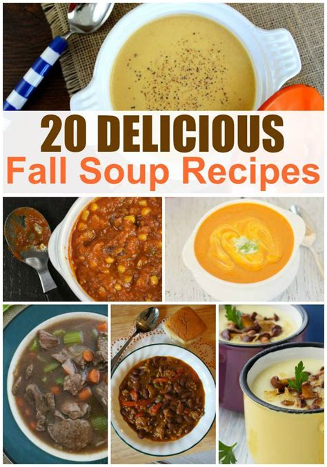 best fall soup recipes 20 delicious recipes sincerely