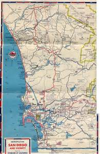San Diego Freeway Map by U S 395 San Diego Original Amp Final Routes