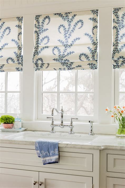 Kitchen Window Coverings House With Coastal Interiors Home Bunch Interior