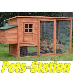 Pig Hutch Large Chicken Coop Rabbit Hutch Ferret Cage Hen Chook