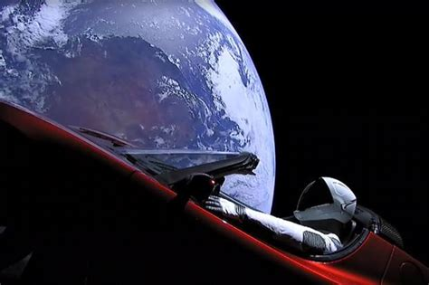 elon musk space elon musk sends tesla to space as world s most powerful