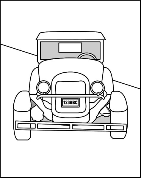old cars coloring pages coloring home old car coloring pages coloring home