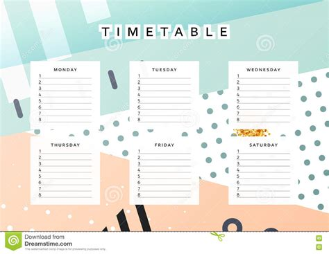 design planner planner calendar schedule the week abstract design