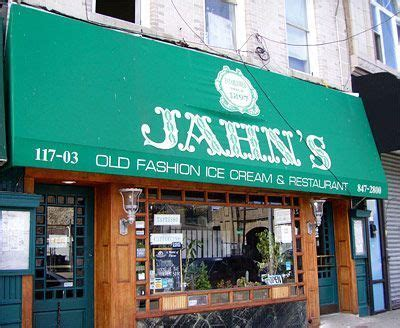 Jahns ice cream parlor Richmond Hill, Queens NY Home of