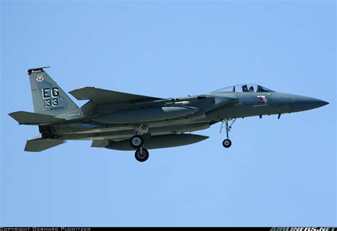 mcdonnell douglas f 15c eagle usa air aviation photo 1317820 airliners net
