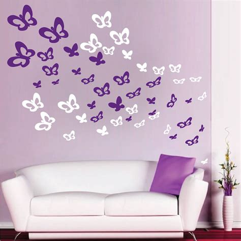 butterfly wall stickers for bedrooms bedroom butterflies wall decals animal wall decal murals