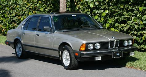 1986 bmw 735i low mileage 1986 bmw 735i quot time capsule quot for sale german