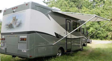 awnings for rv leo kathy s place for sale 1999 safari trek 26 gas rv