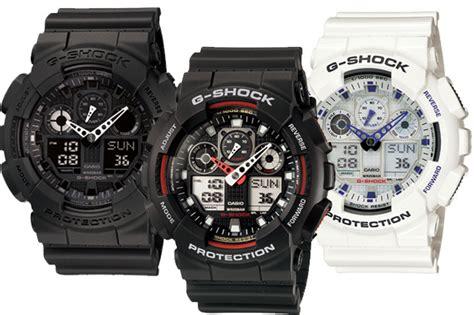 Jam Tangan Pria Casio Gshock Type Ga 100 Ori Bm jual casio g shock ga100 chrono analog ziezie shop