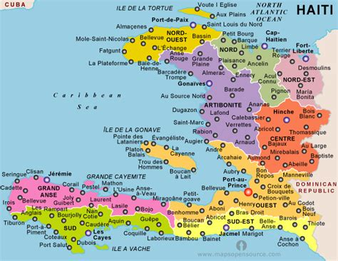 map haiti free haiti political map political map of haiti