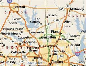 North Dallas Map by Map Of North Texas Grey