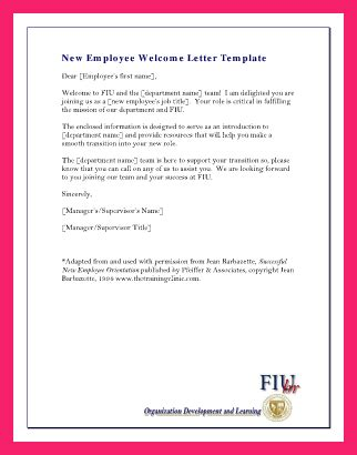 Welcome To The Team Email Bio Letter Format Welcome To The Team Email Template