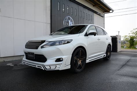 2015 toyota harrier 2015 toyota harrier tuned by rowen