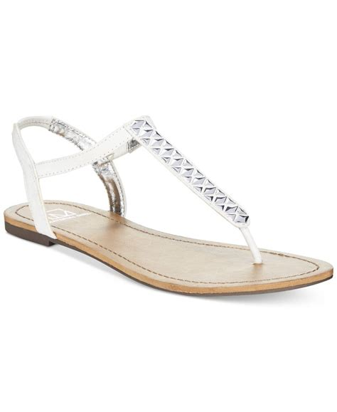 sandals only lyst material t flat sandals only