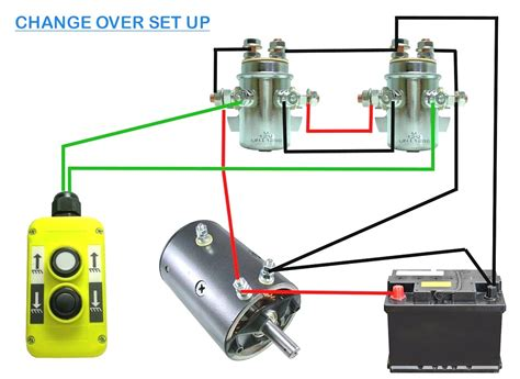 winch solenoid wiring wiring diagram with description
