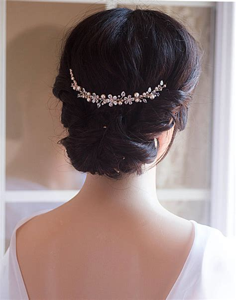 how to wrap wedding hair wedding hair chain bridal hair chain swarovski pearls