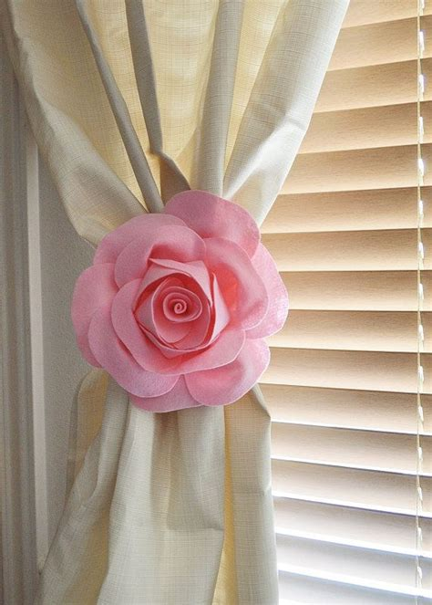 decorative tiebacks for curtains 17 best ideas about flower curtain on pinterest hanging