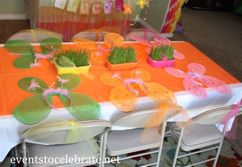themes birthday butterfly themed party activities events to celebrate