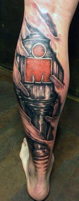 ironman tattoo designs men triathlon ink ideas