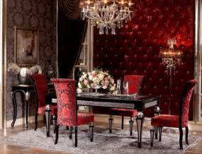 Red Dining Room Sets european neo classical dining settop and best italian classic