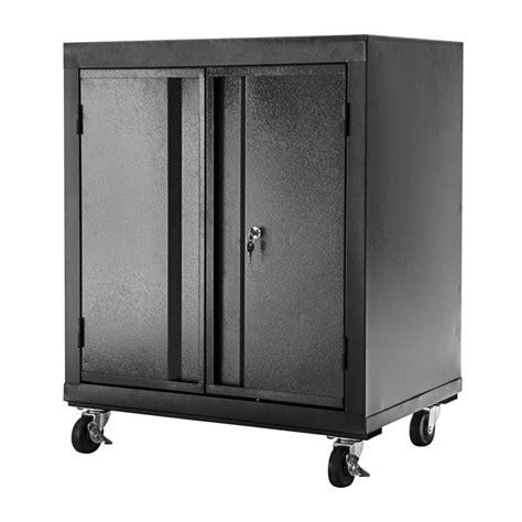Mobile Garage Storage Cabinets by Romak 830 X 665 X 465mm 2 Door Lockable Mobile Garage Cabinet