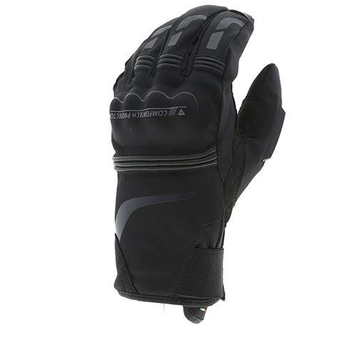 dainese tempest unisex  dry motosiklet eldiveni kisa siyah