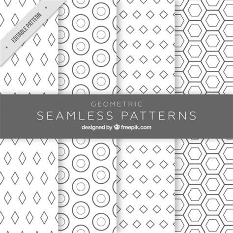 figuras geometricas vector patrones monocrom 225 ticos con figuras geom 233 tricas