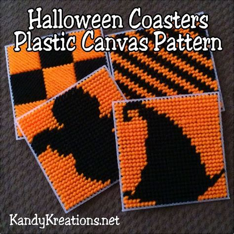 free patterns in plastic canvas halloween coasters plastic canvas pattern free plastic