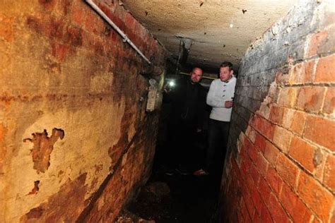 pub with tunnels underneath available a tour of the tunnels under hull hull daily mail