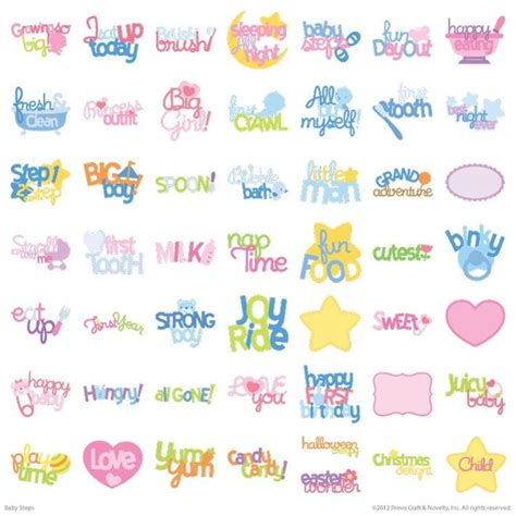 Cricut Cartridges Baby Shower by 20 Best Cricut Baby Steps Images On Baby Steps