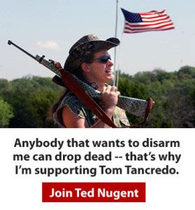 Ted Nugent Criminal Record Ted Nugent Tancredo For Governor And To Save America Colorado Pols