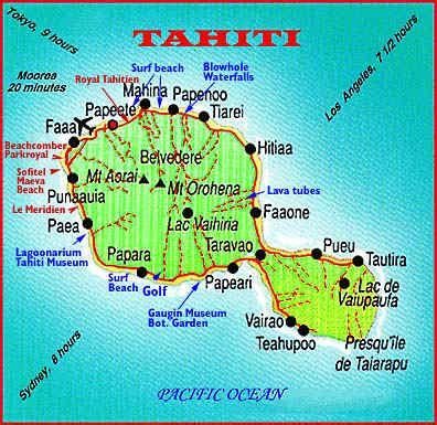 infos sur plan de tahiti polynesie francaise arts