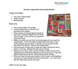 printable directions for making fleece tie blankets no sew fleece blankets lovetoknow
