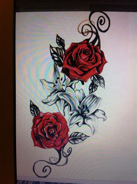 tattoo oriental rosa would love as a outer thigh tattoo to commemorate my