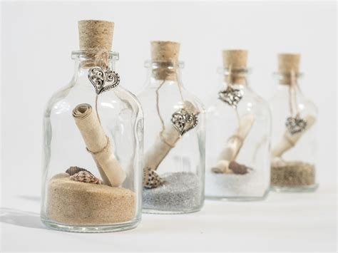 invite in a bottle handmade message in a bottle invitations from the uk