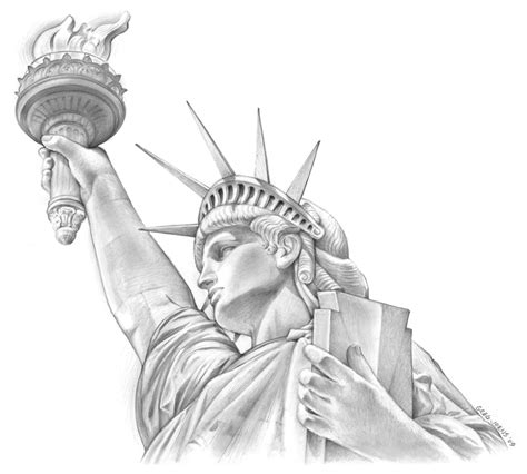 statue tattoo designs http gregssketch 2009 03 statue of liberty