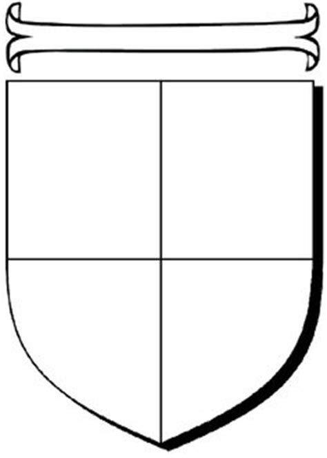 use this coat of arms worksheet as an artistic prompt